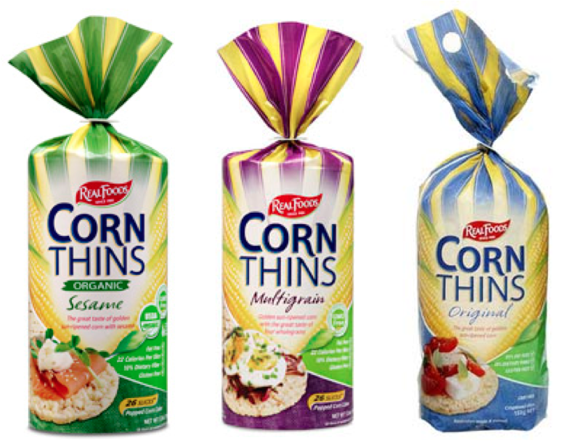 Products we Love: Real Food Corn Thins
