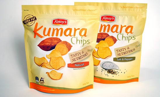 Products we love: Kenny's Kumara Chips
