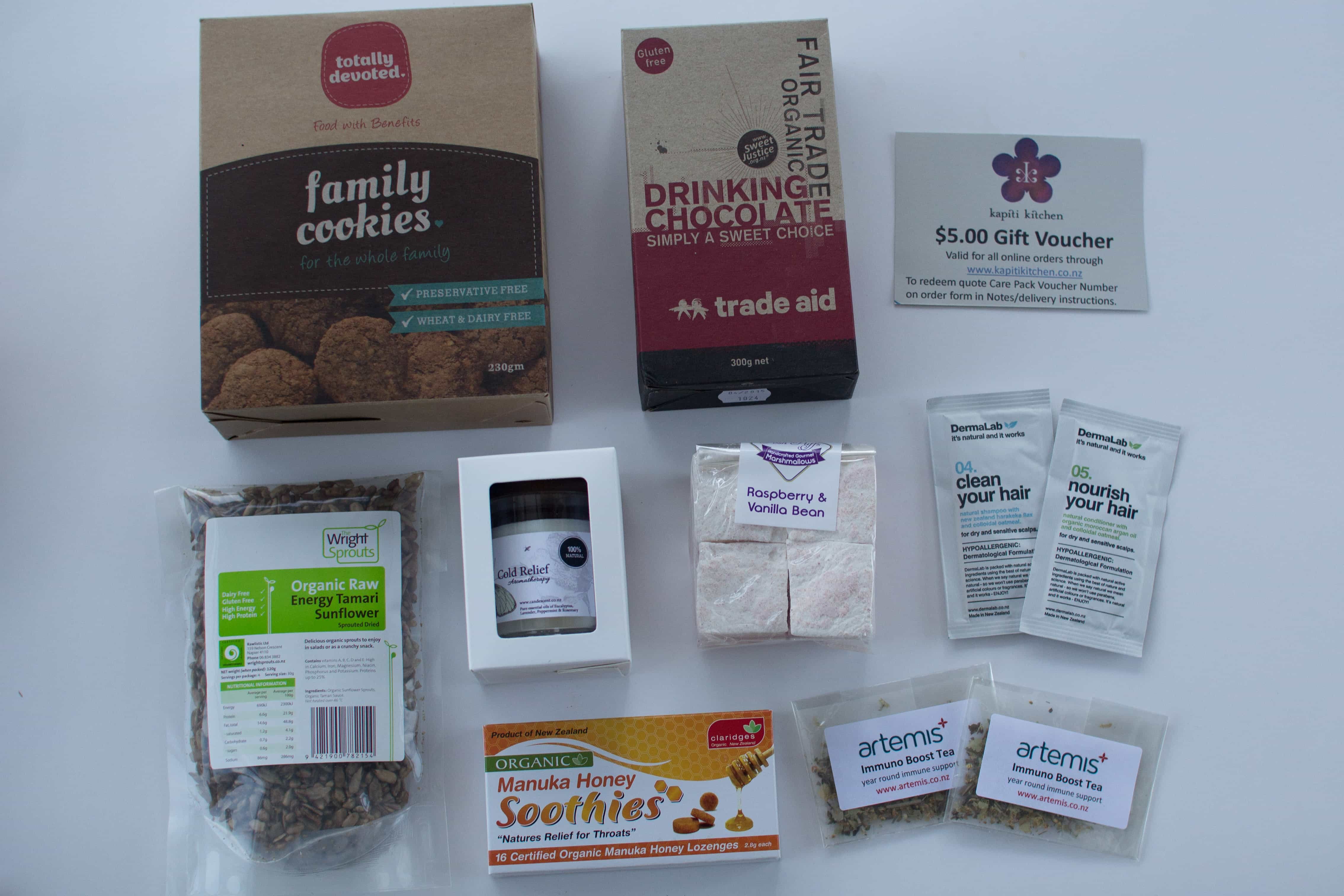 Care Pack – boxes of healthy goodies + WIN your own Care Pack