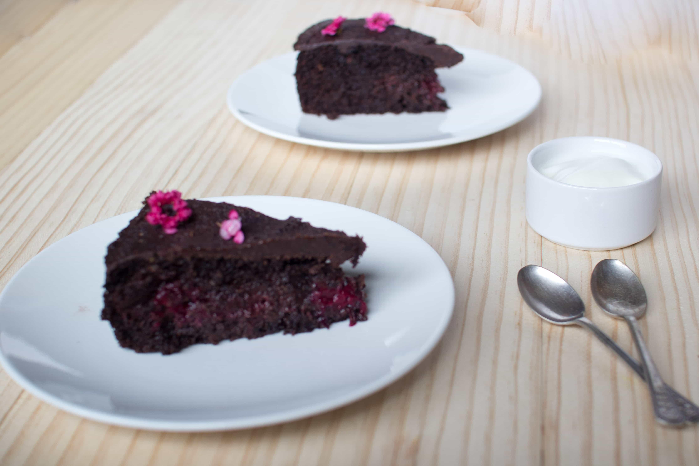 Chocolate cake made over
