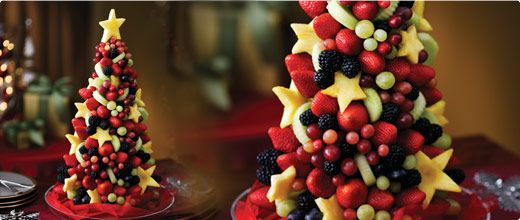 Fresh, healthy Christmas desserts + treats