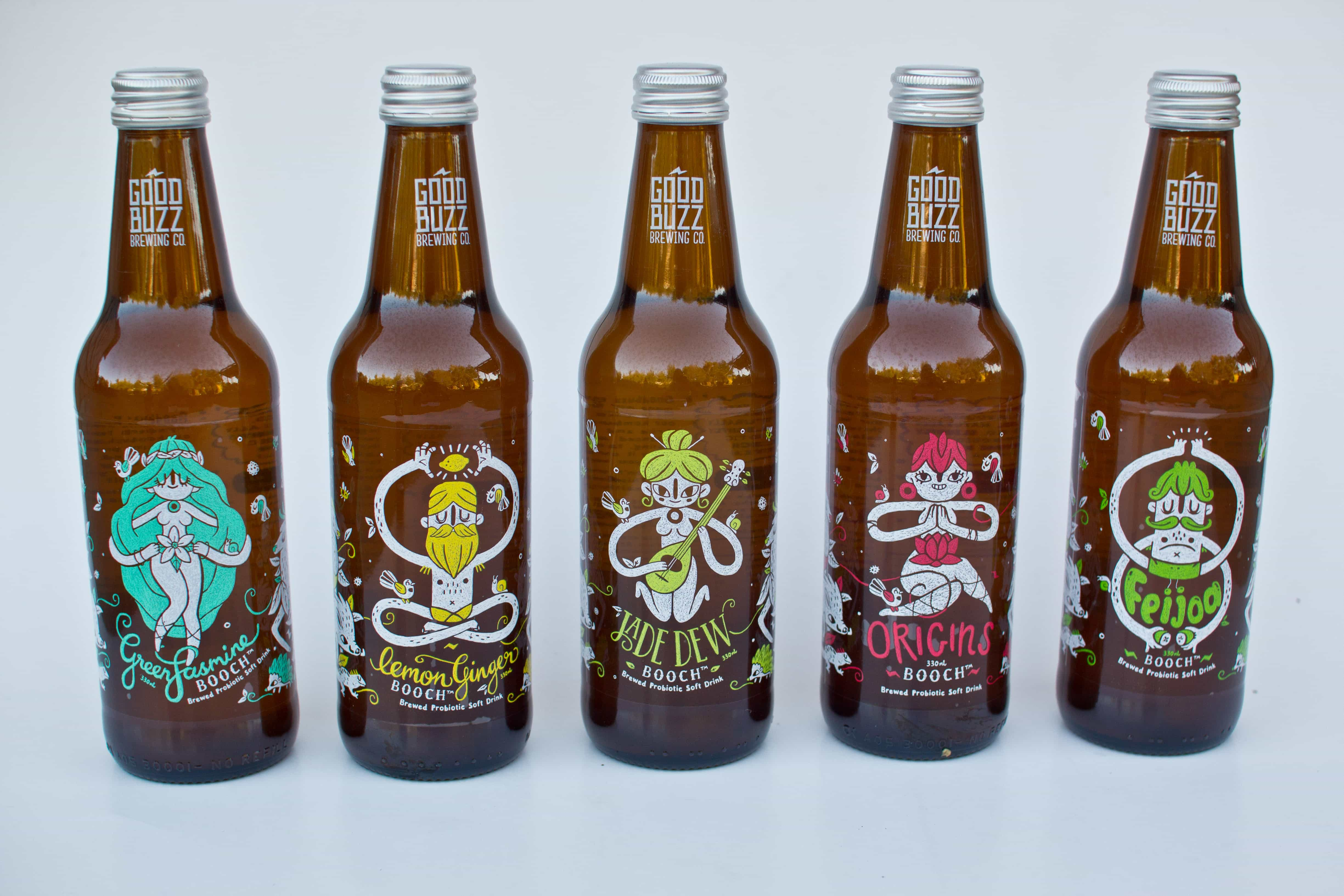 Good Buzz Kombucha Product Review
