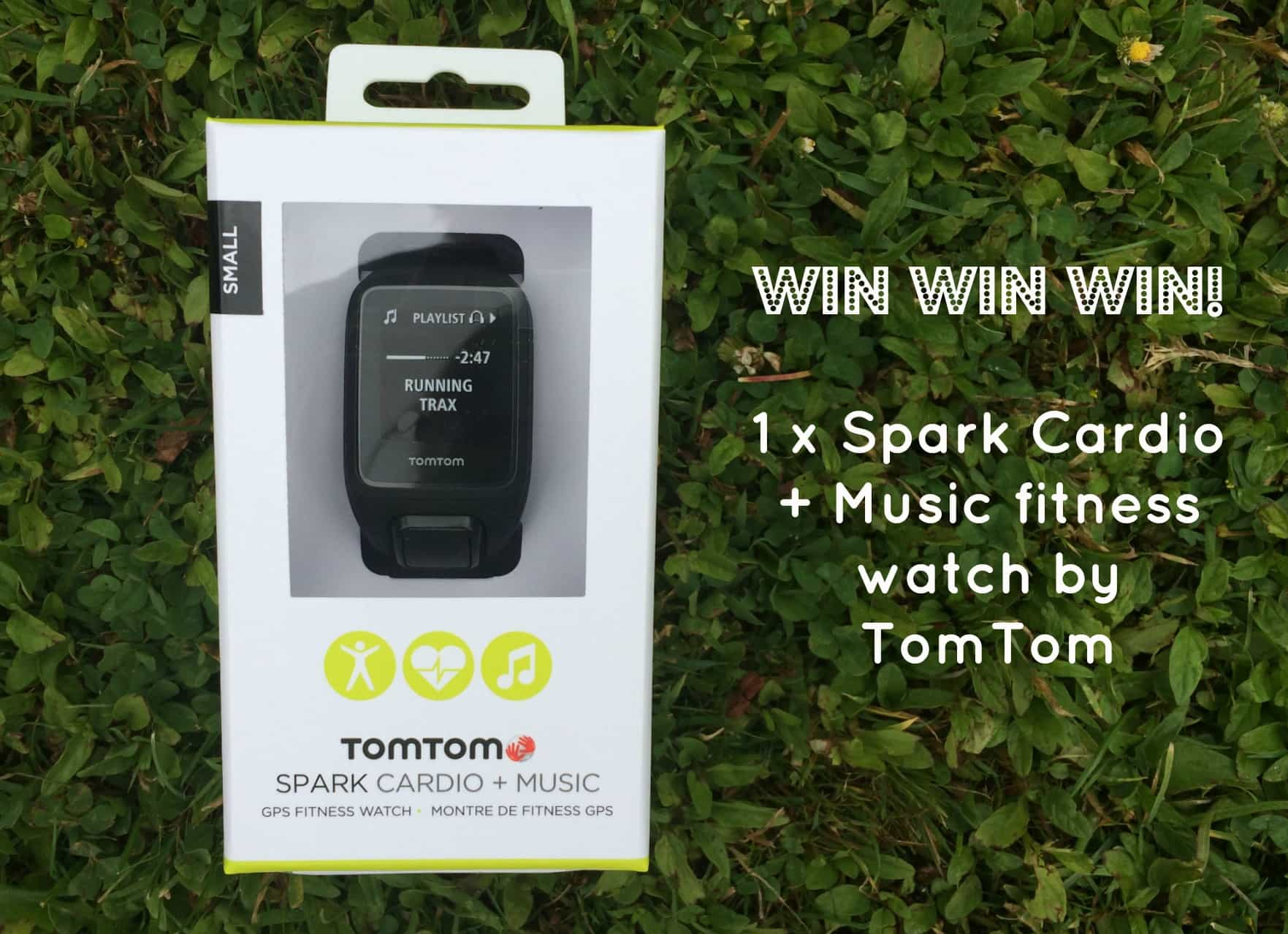 WIN a TomTom Spark Cardio + Music watch worth $399