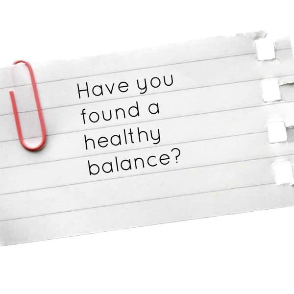 healthybalance
