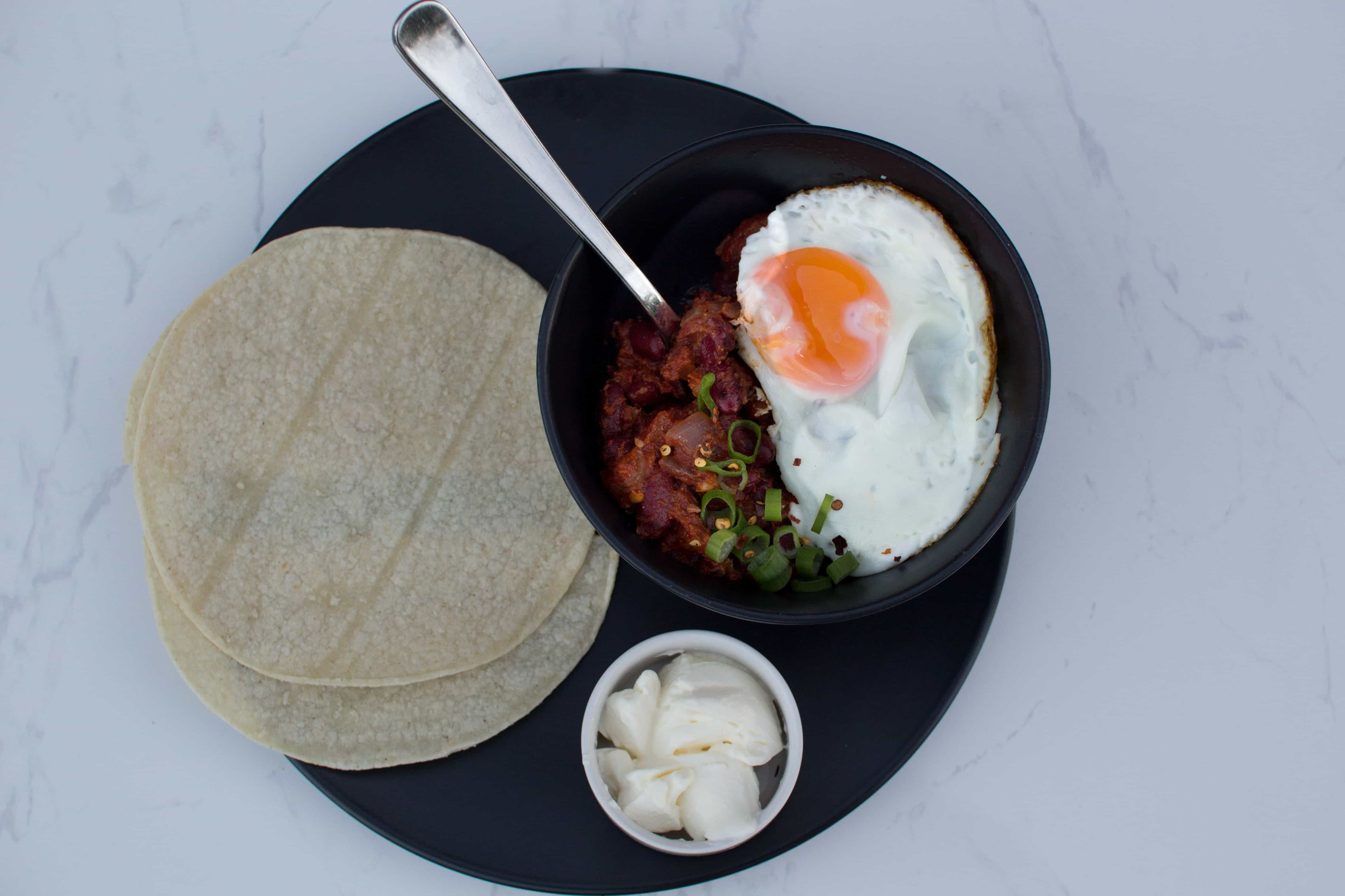Quick Mexican Chilli Bean recipe