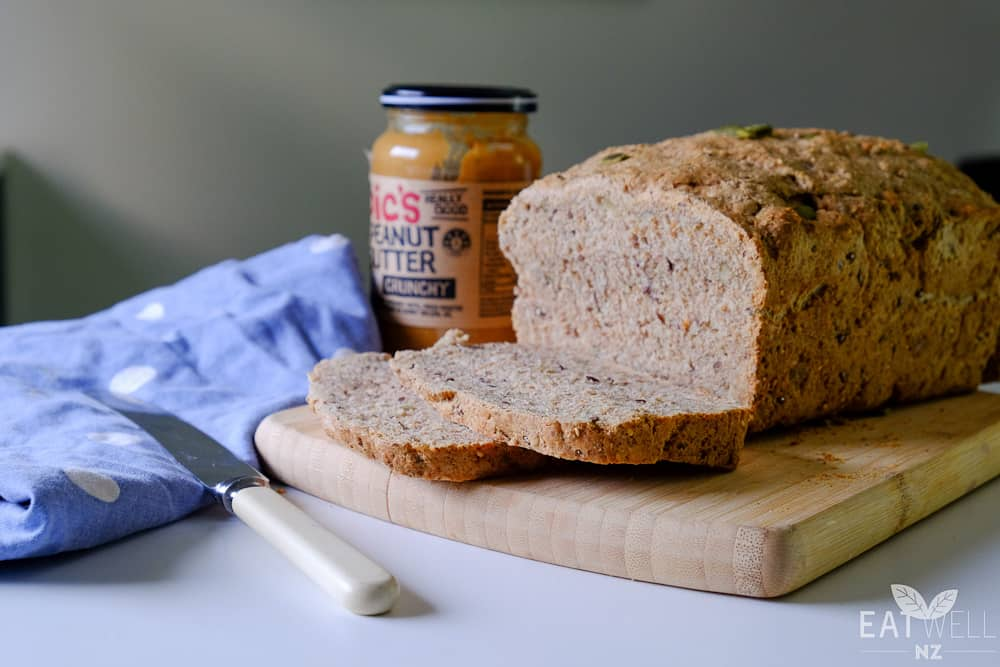 Spelt, Rye and Seed Bread