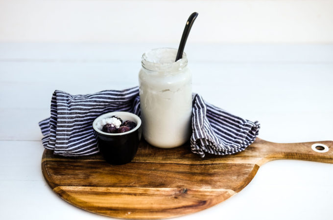 How to make coconut yoghurt